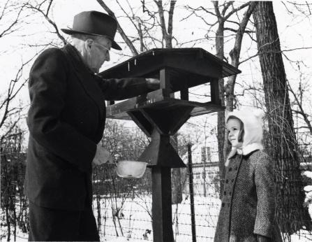 Harris bird feeder